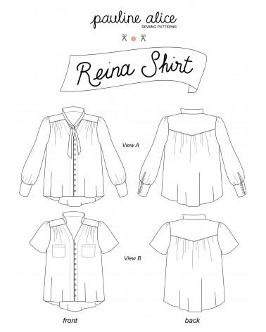 camisa Reina PDF Pattern