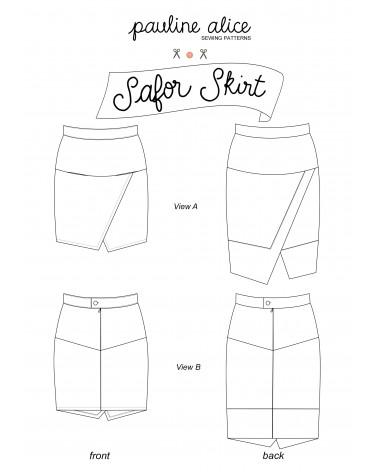 Safor skirt PDF Pattern