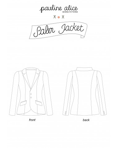 veste Saler PDF Pattern