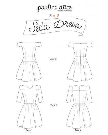 vestido Seda PDF Pattern