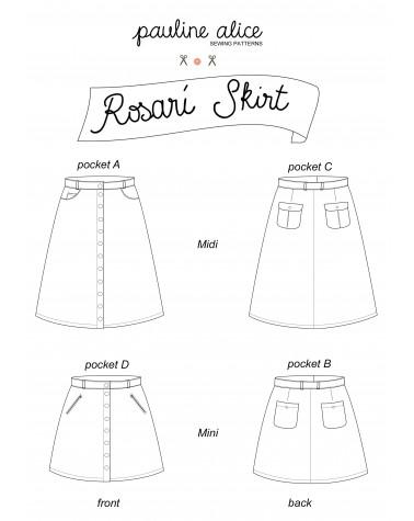 falda Rosarí PDF Pattern
