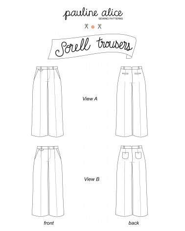 pantalón Sorell PDF Pattern