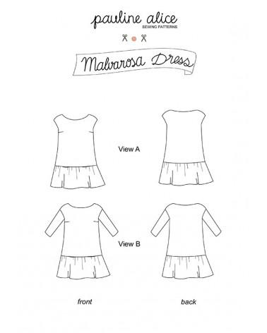 robe Malvarosa PDF Pattern
