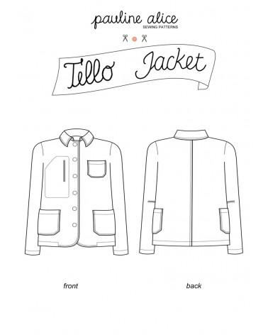 Tello jacket PDF Pattern