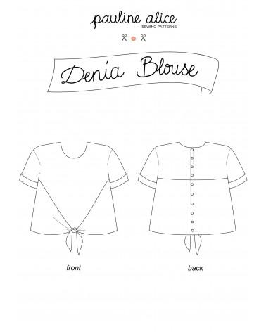 Denia blouse PDF Pattern