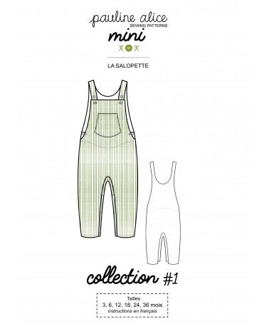 Salopette, collection Mini