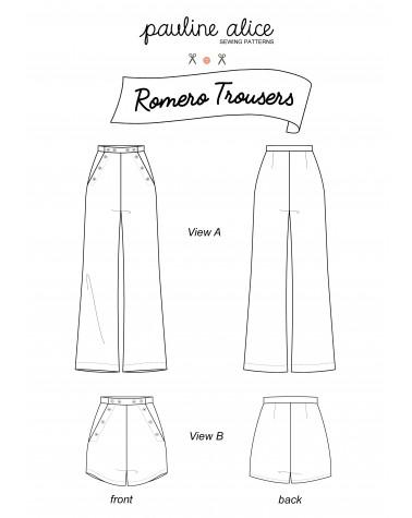 Trousers Romero  PDF pattern