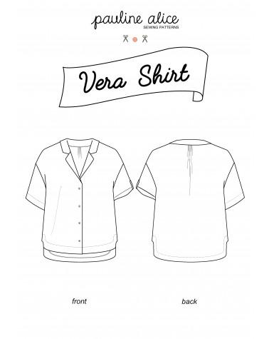 Camisa Vera PDF Pattern
