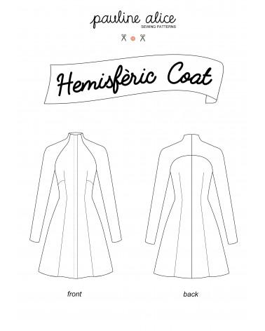 manteau Hemisfèric PDF Pattern