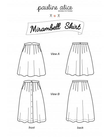 falda Mirambell PDF Pattern