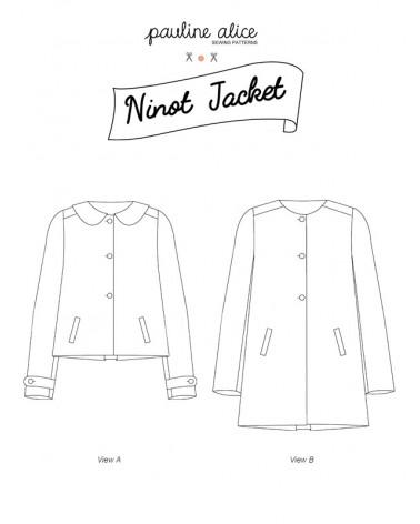 Chaqueta Ninot PDF Pattern
