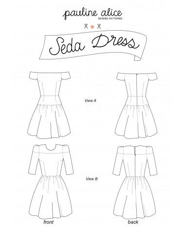 Seda dress PDF Pattern